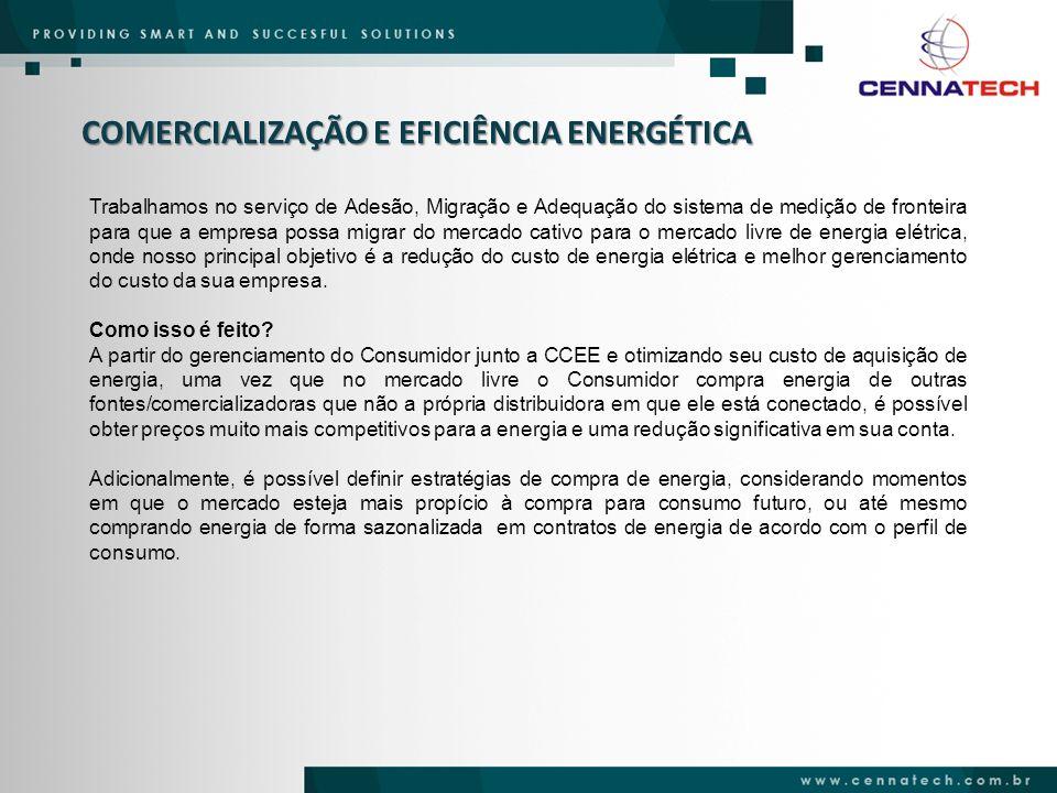COMERCIALIZAÇÃO E EFICIÊNCIA ENERGÉTICA