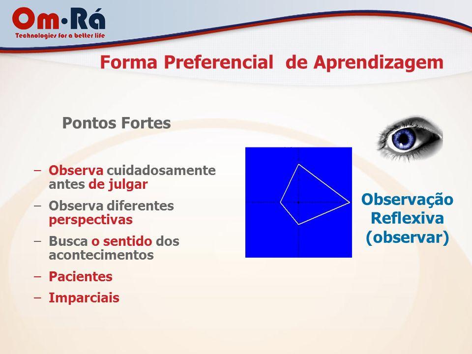 Forma Preferencial de Aprendizagem