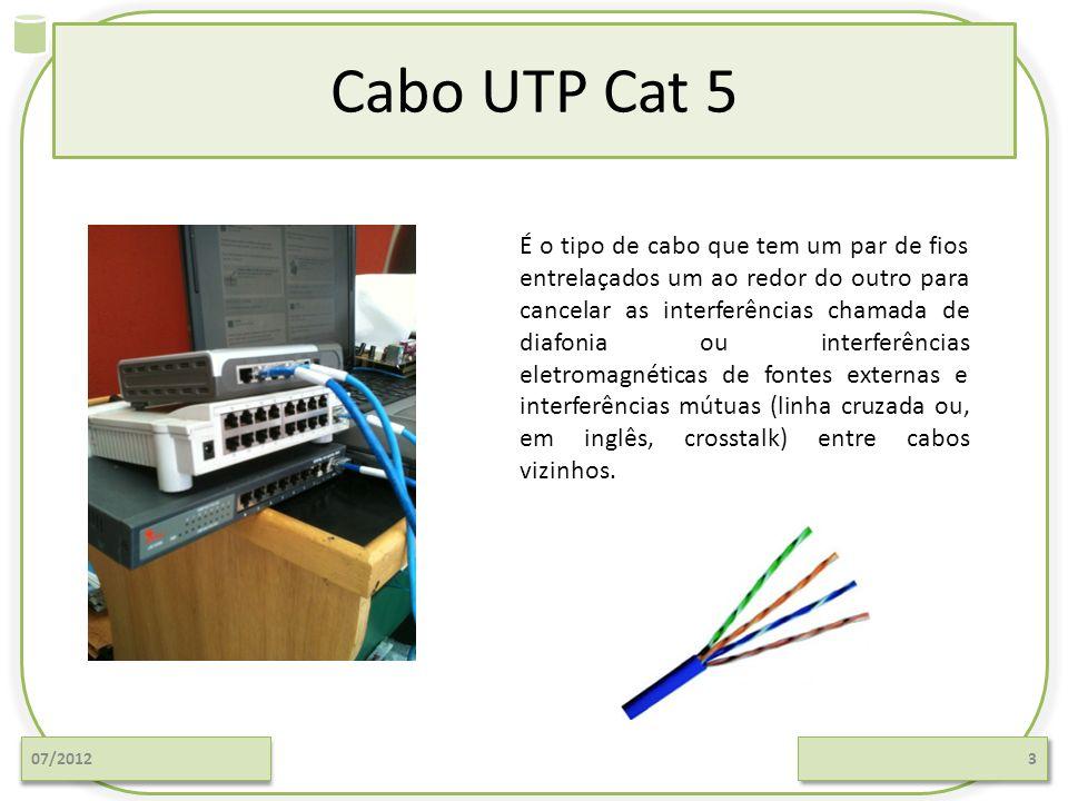 Cabo UTP Cat 5