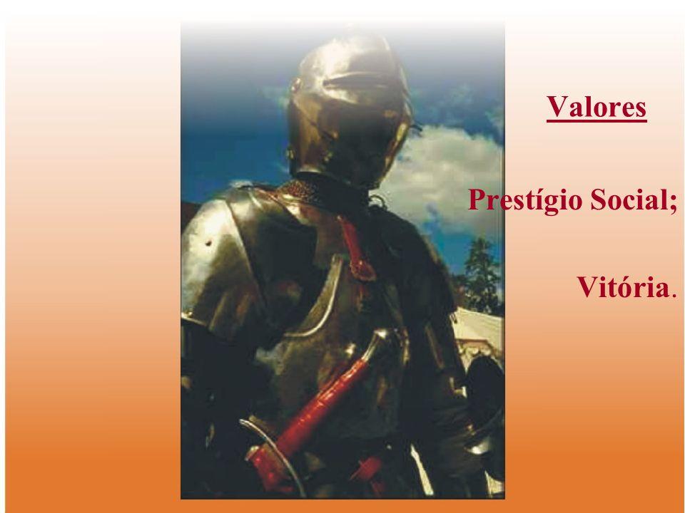 Valores Prestígio Social; Vitória.