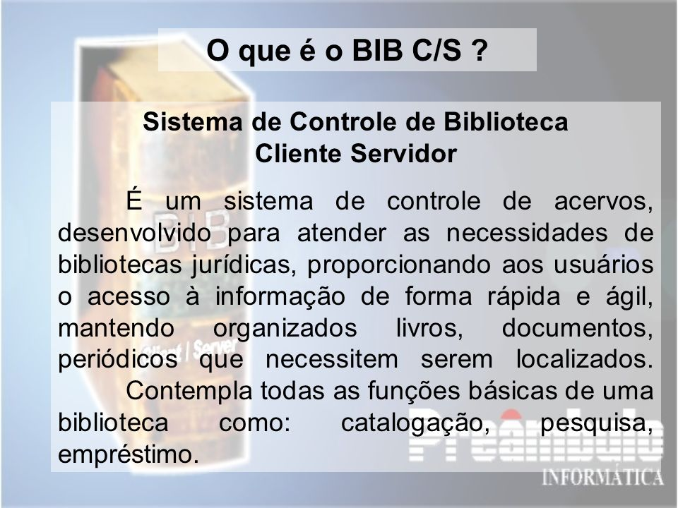 Sistema de Controle de Biblioteca Cliente Servidor