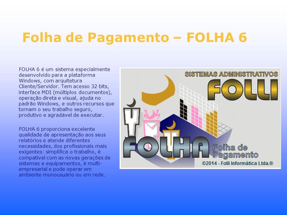 Folha de Pagamento – FOLHA 6