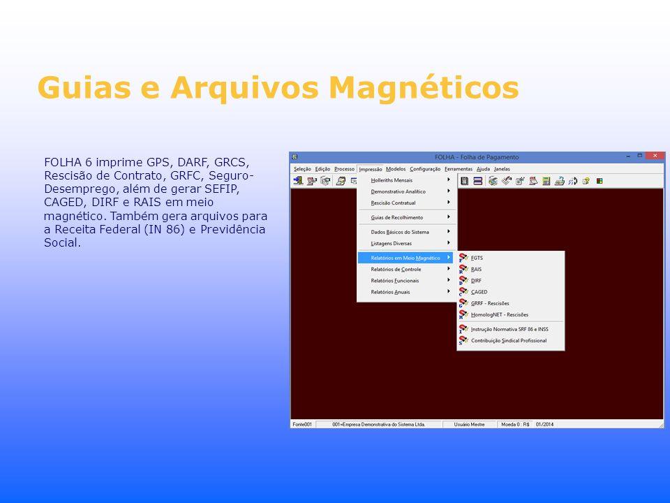 Guias e Arquivos Magnéticos