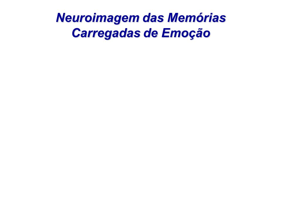Neuroimagem das Memórias