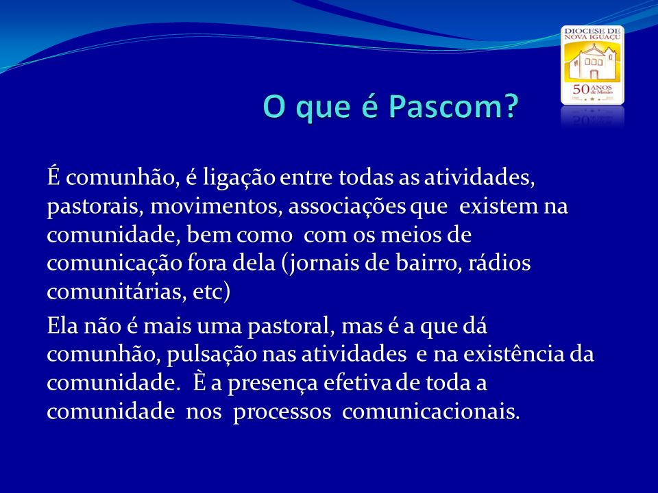 O que é Pascom