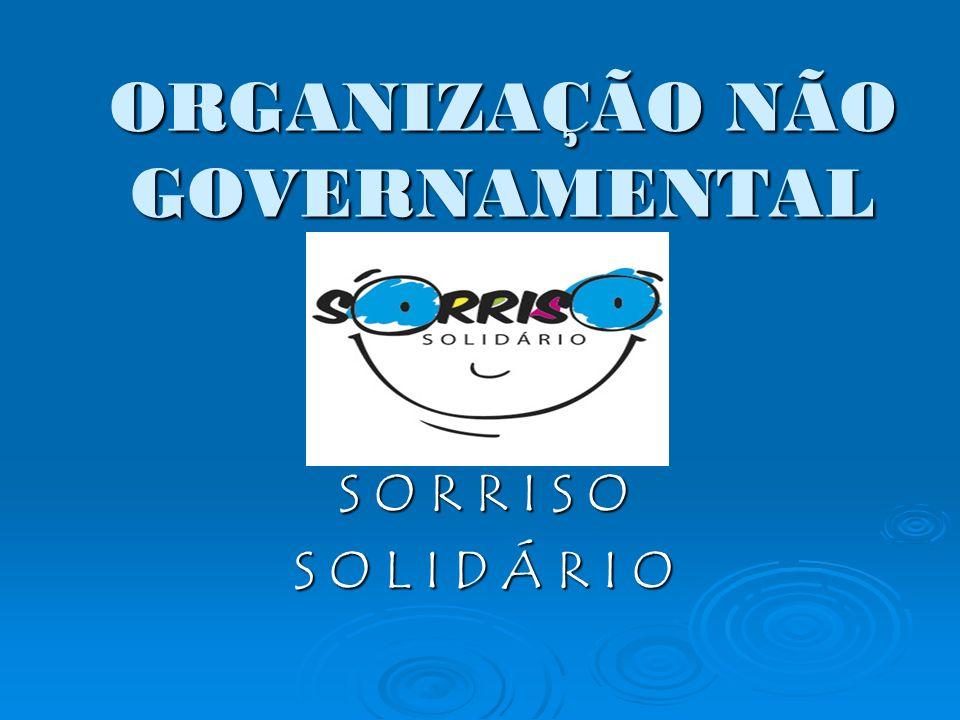ORGANIZAÇÃO NÃO GOVERNAMENTAL