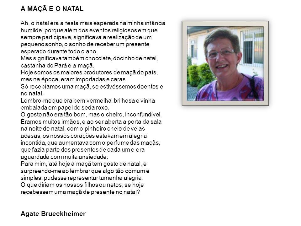 A MAÇÃ E O NATAL Agate Brueckheimer