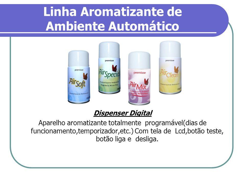 Linha Aromatizante de Ambiente Automático