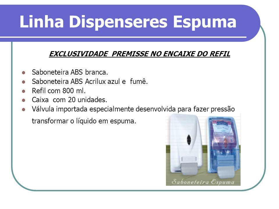 Linha Dispenseres Espuma