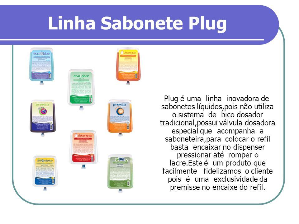 Linha Sabonete Plug