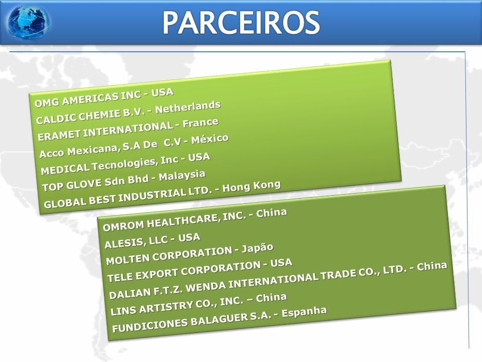 PARCEIROS OMG AMERICAS INC - USA CALDIC CHEMIE B.V. - Netherlands