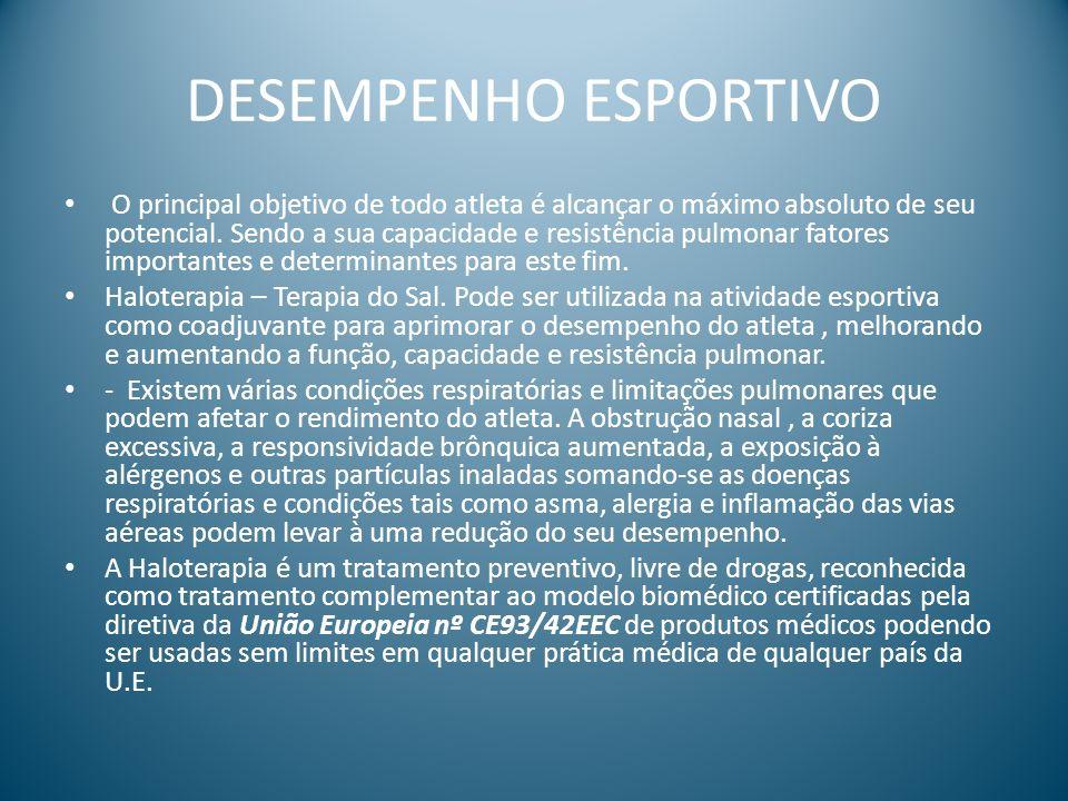 DESEMPENHO ESPORTIVO