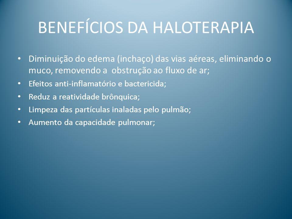 BENEFÍCIOS DA HALOTERAPIA