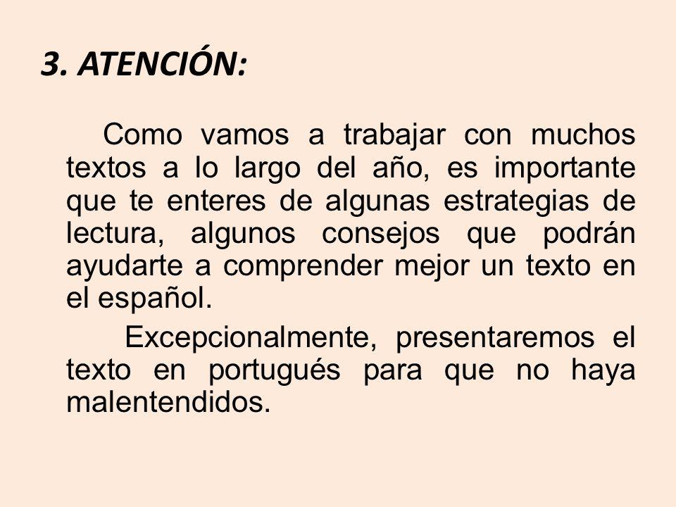 3. ATENCIÓN: