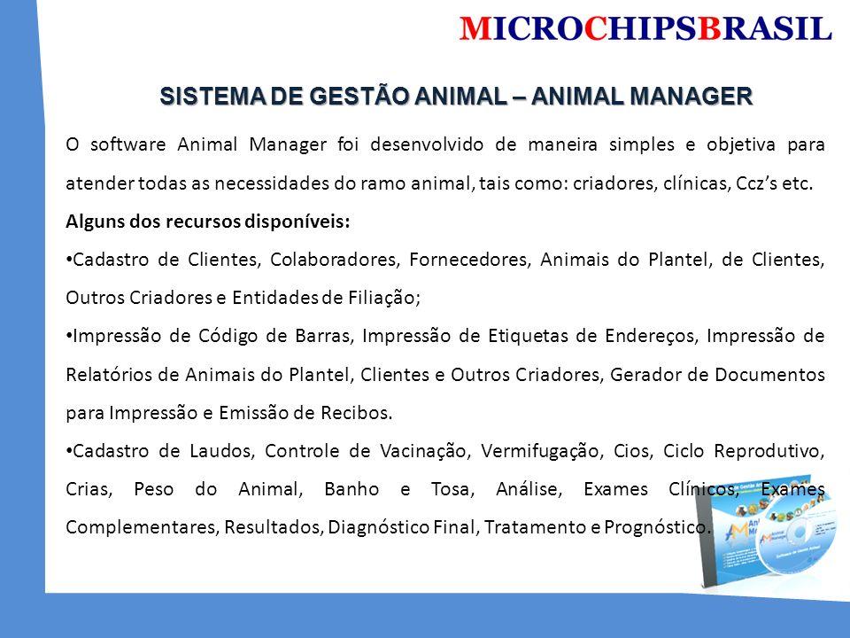 SISTEMA DE GESTÃO ANIMAL – ANIMAL MANAGER