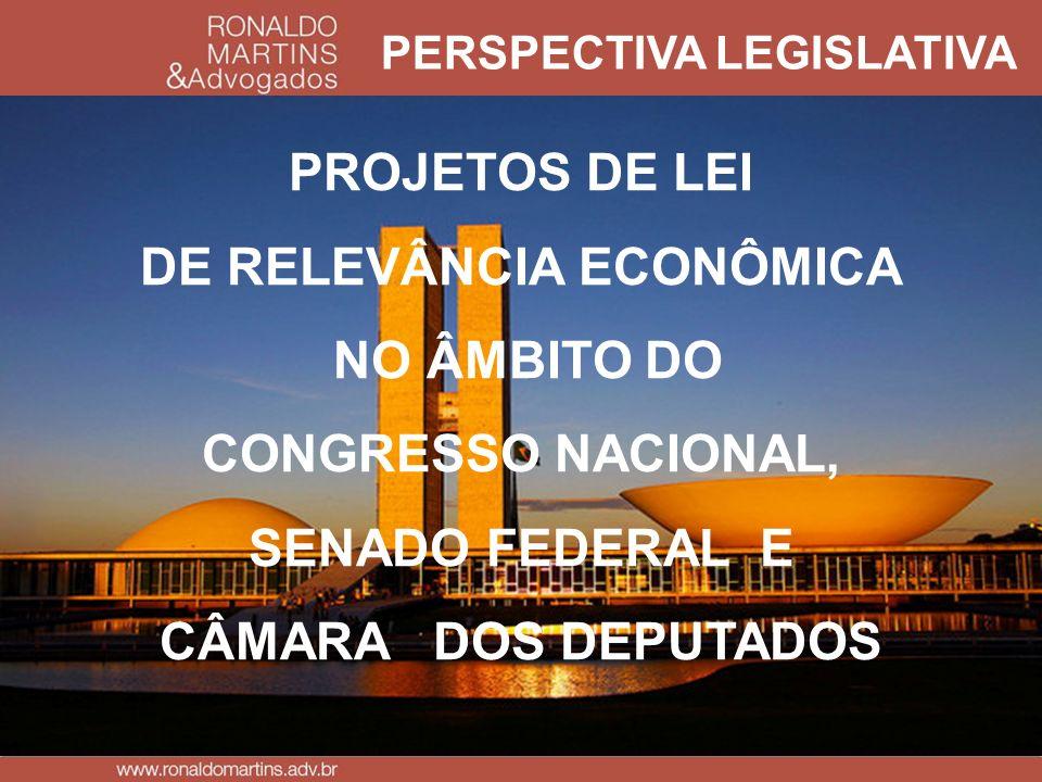 PERSPECTIVA LEGISLATIVA DE RELEVÂNCIA ECONÔMICA