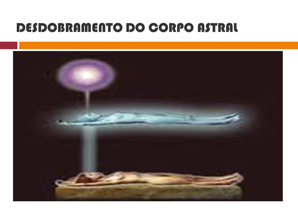DESDOBRAMENTO DO CORPO ASTRAL