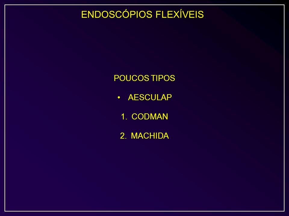 ENDOSCÓPIOS FLEXÍVEIS