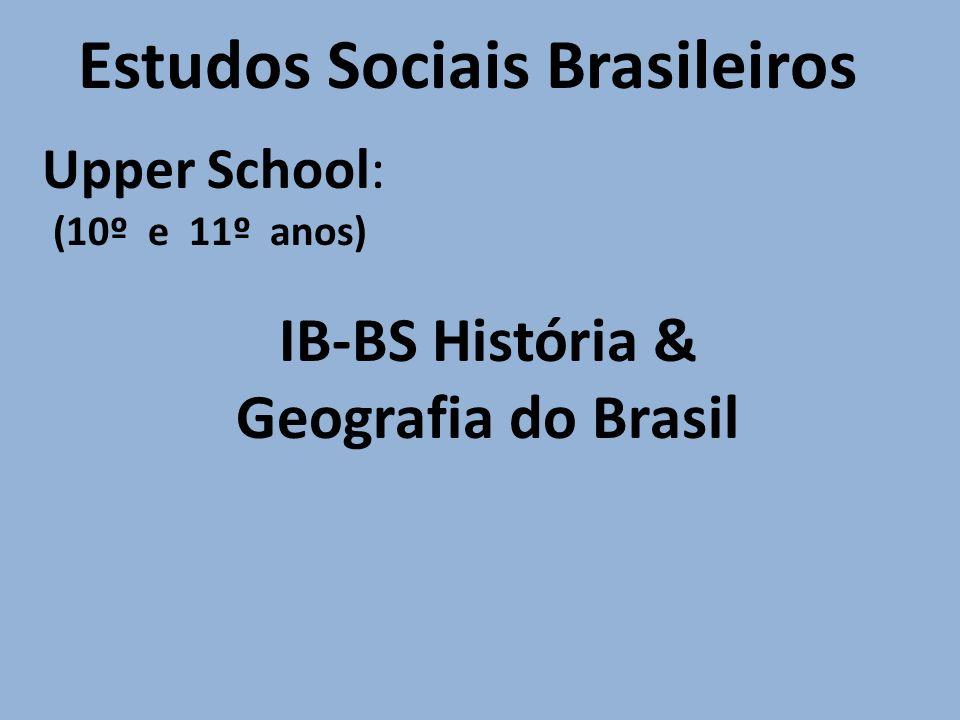 Estudos Sociais Brasileiros