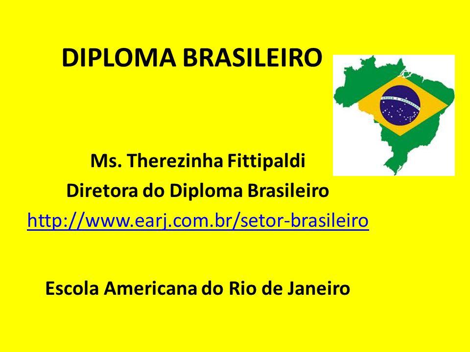 DIPLOMA BRASILEIRO Ms. Therezinha Fittipaldi