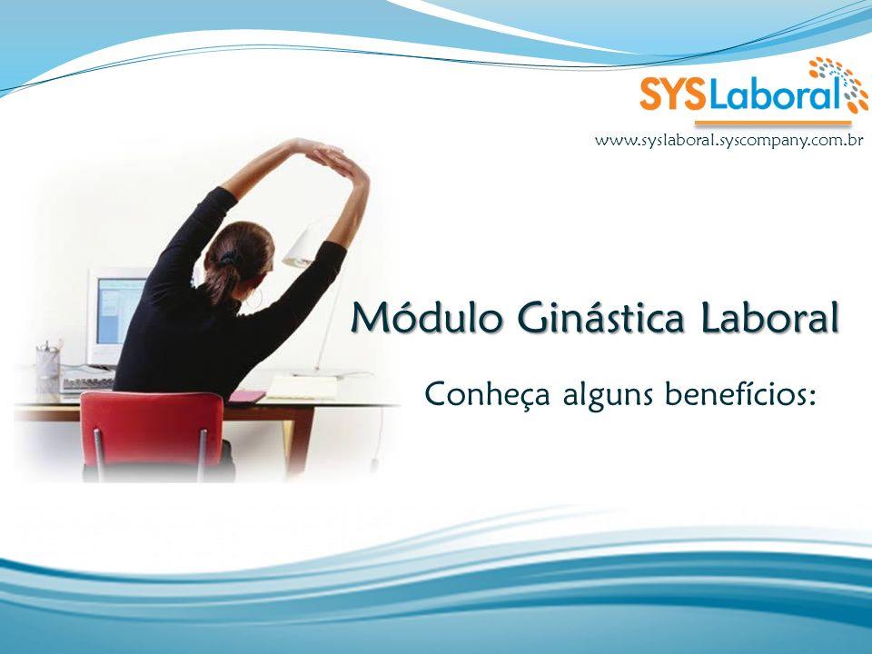Módulo Ginástica Laboral