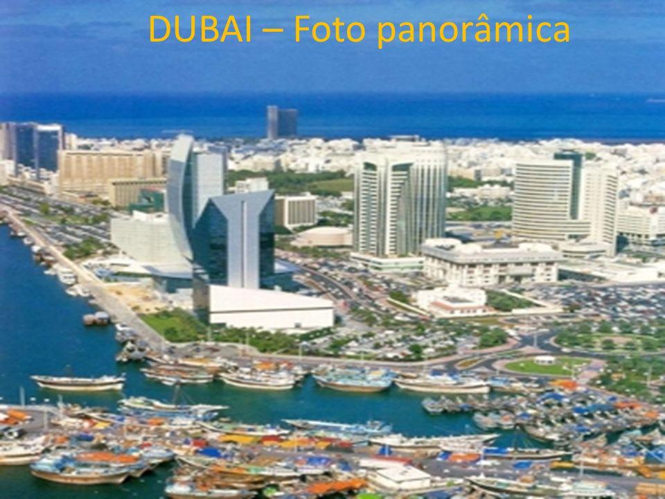 DUBAI – Foto panorâmica