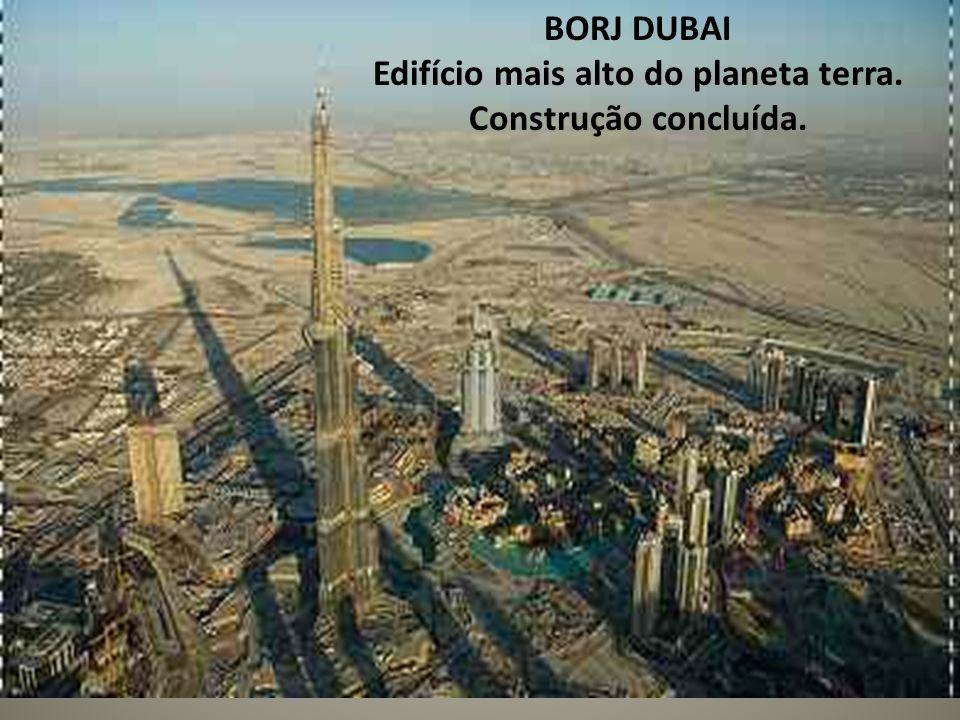 Edifício mais alto do planeta terra.
