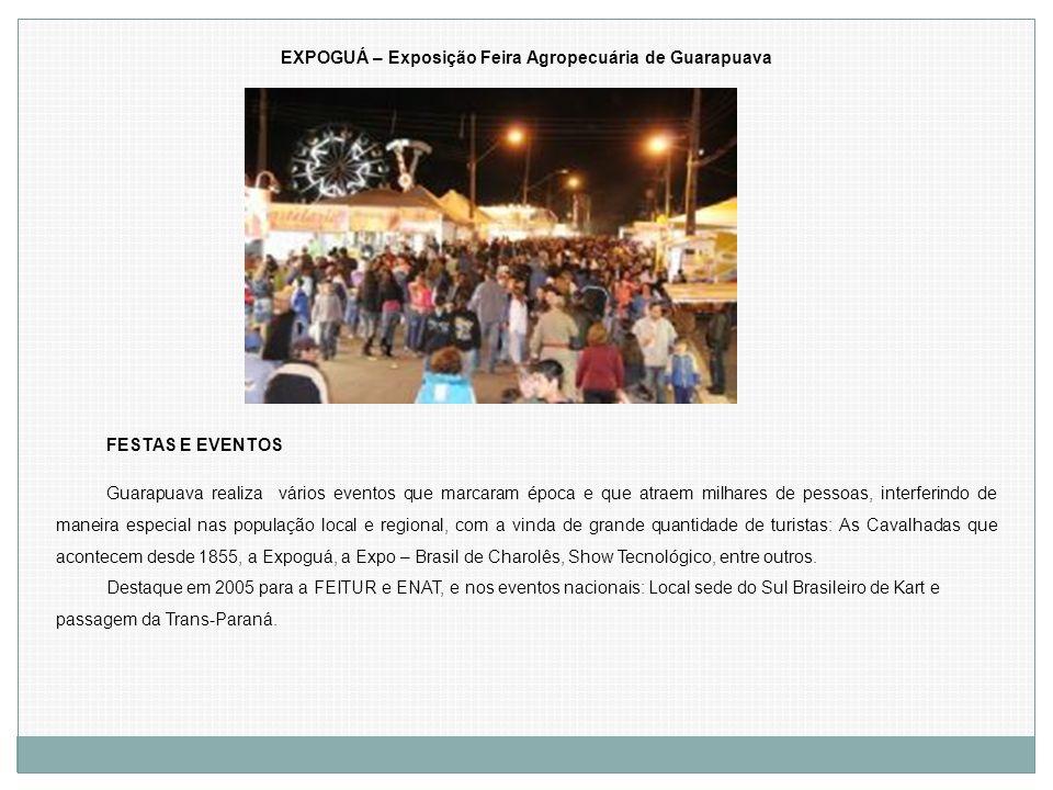 EXPOGUÁ – Exposição Feira Agropecuária de Guarapuava