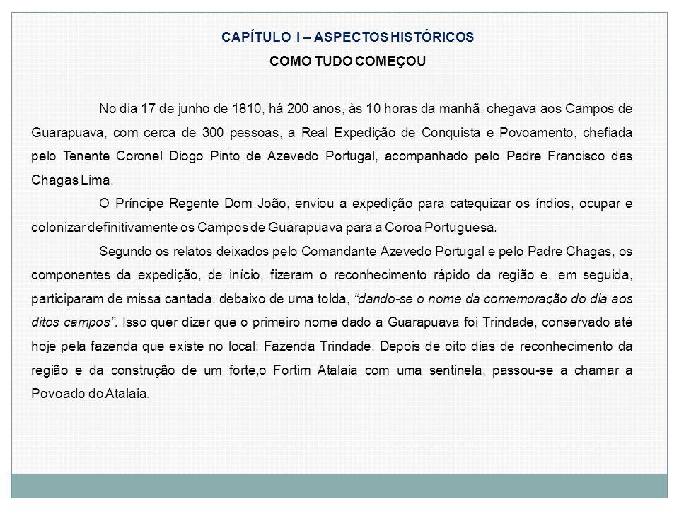 CAPÍTULO I – ASPECTOS HISTÓRICOS