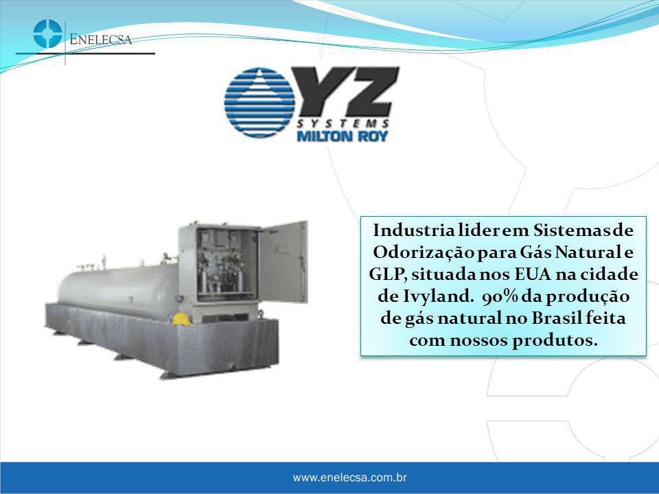 Industria lider em Sistemas de Odorização para Gás Natural e GLP, situada nos EUA na cidade de Ivyland.