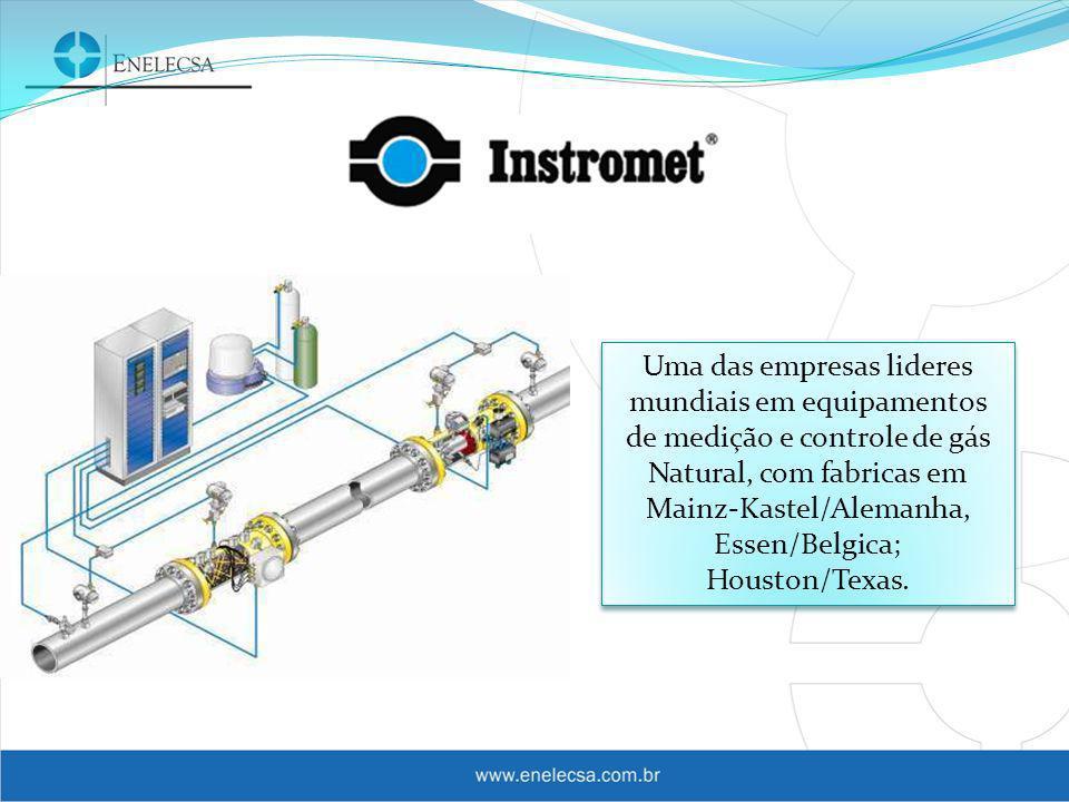 Uma das empresas lideres mundiais em equipamentos de medição e controle de gás Natural, com fabricas em Mainz-Kastel/Alemanha, Essen/Belgica; Houston/Texas.