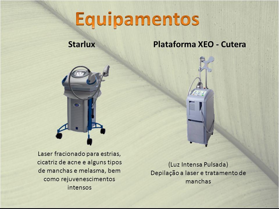 Depilação a laser e tratamento de manchas