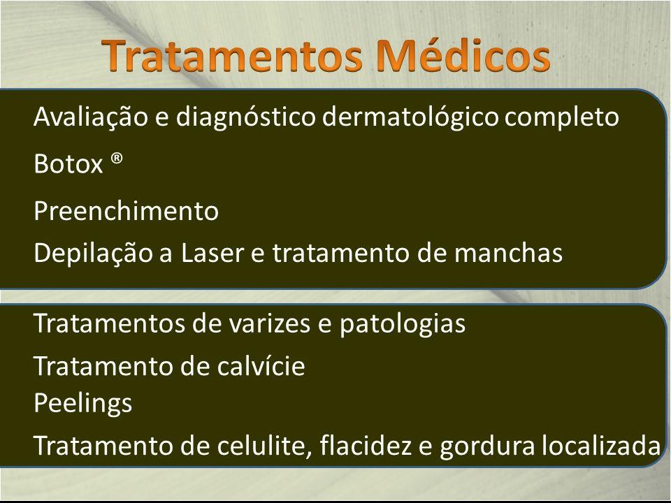 Tratamentos Médicos Avaliação e diagnóstico dermatológico completo