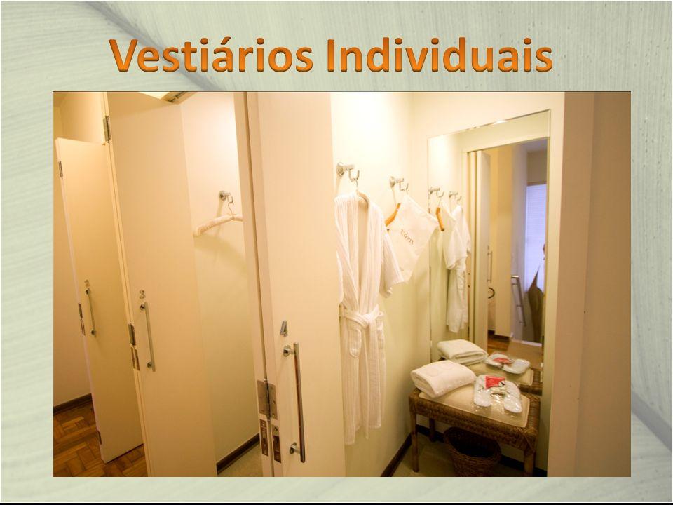Vestiários Individuais