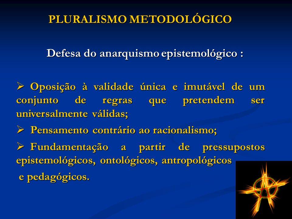 Defesa do anarquismo epistemológico :