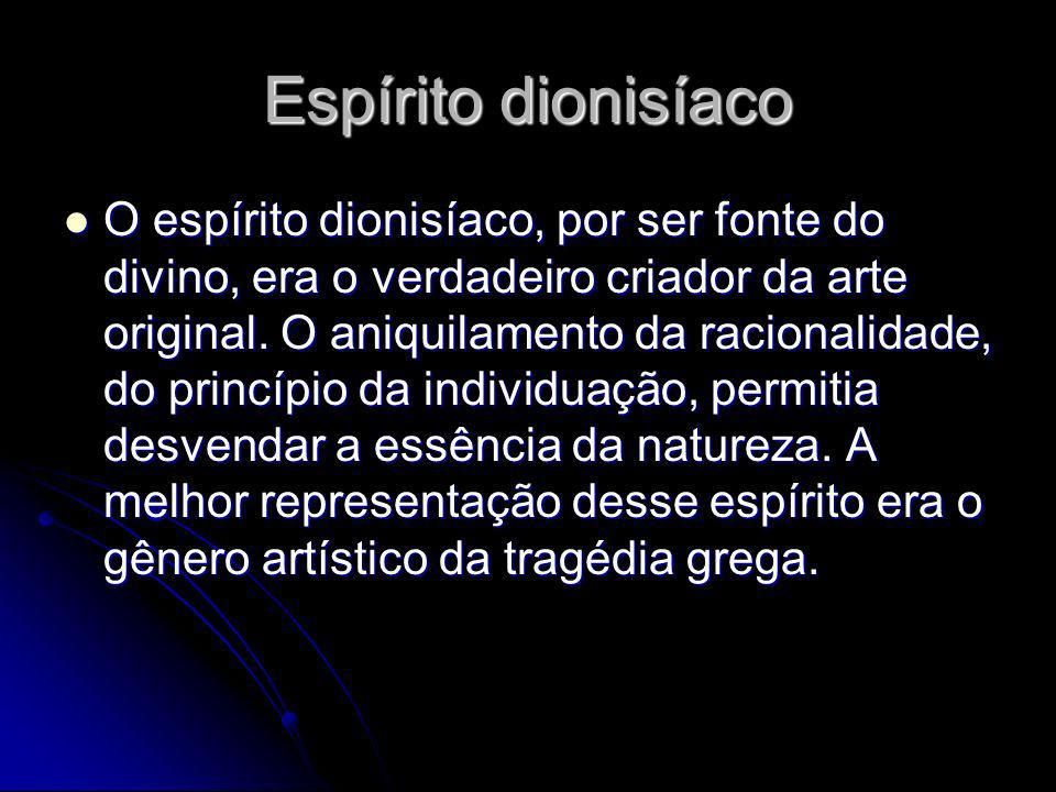 Espírito dionisíaco