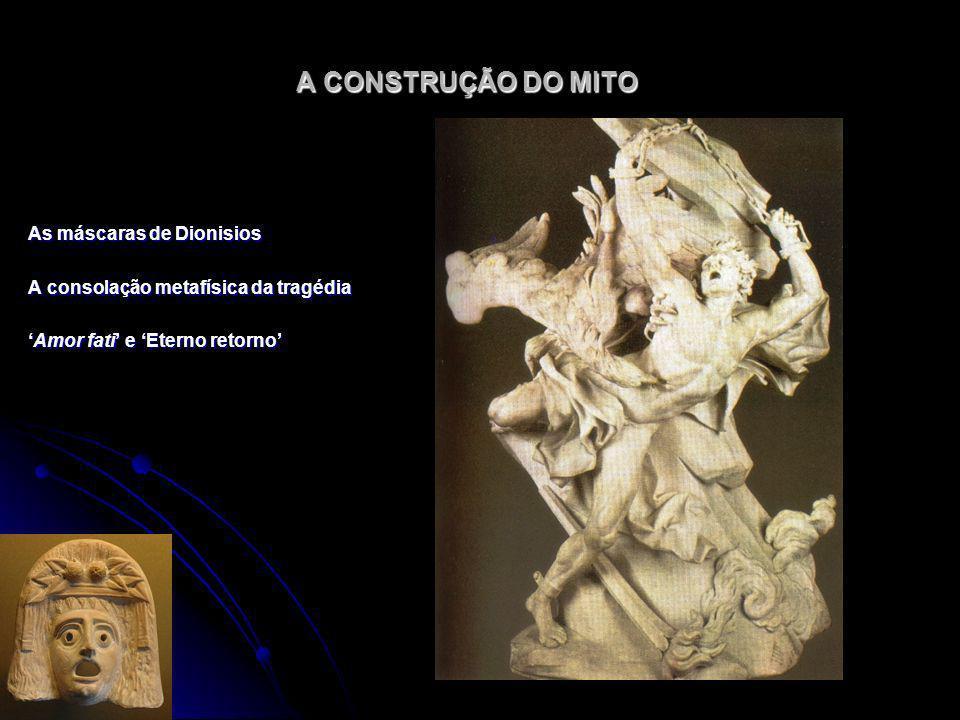 A CONSTRUÇÃO DO MITO As máscaras de Dionisios