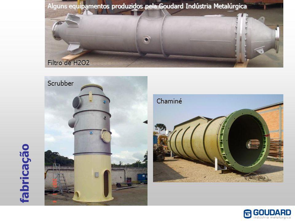 Alguns equipamentos produzidos pela Goudard Indústria Metalúrgica