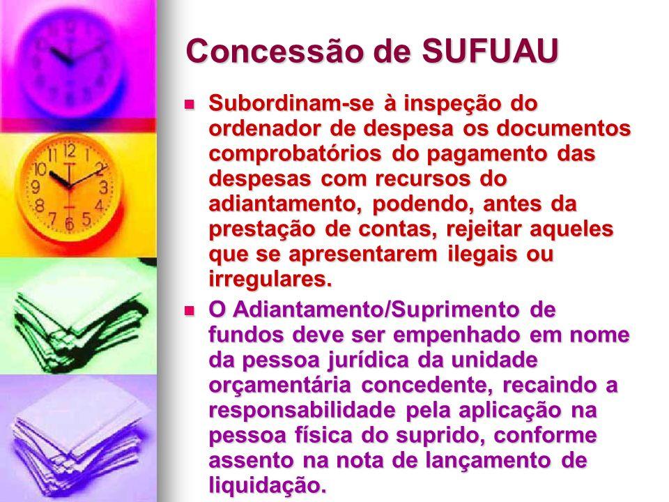 Concessão de SUFUAU