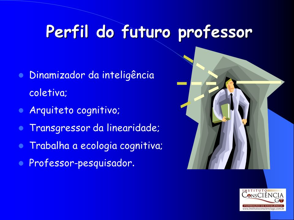 Perfil do futuro professor