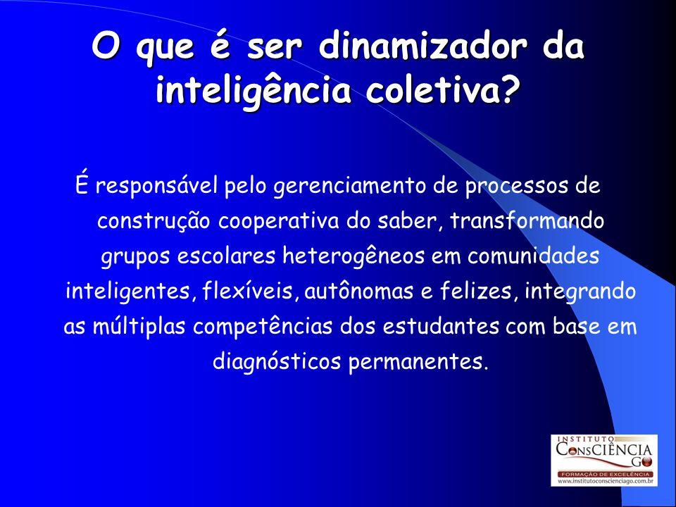 O que é ser dinamizador da inteligência coletiva