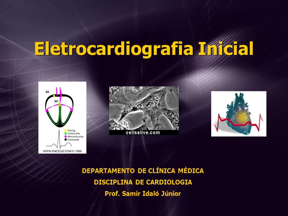 Eletrocardiografia Inicial
