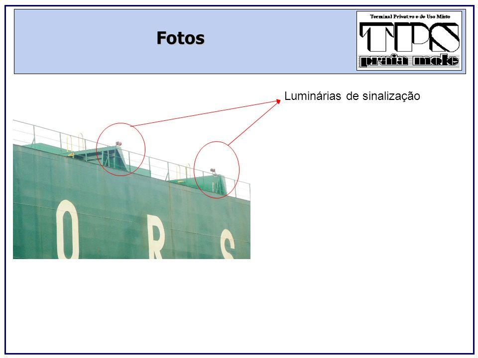 Fotos Luminárias de sinalização