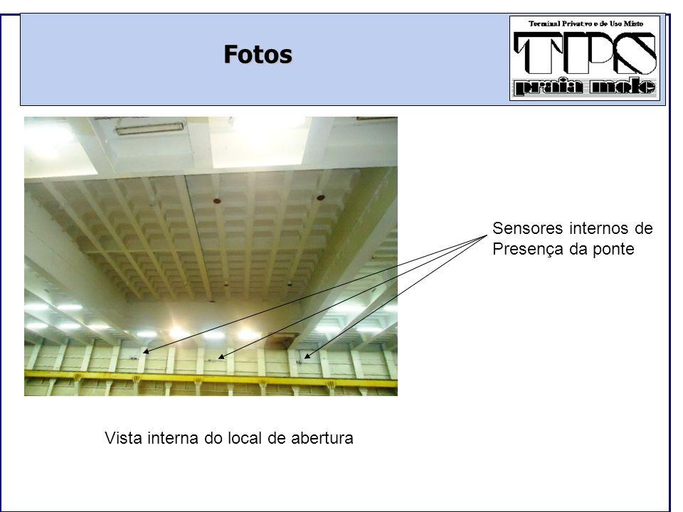 Fotos Sensores internos de Presença da ponte