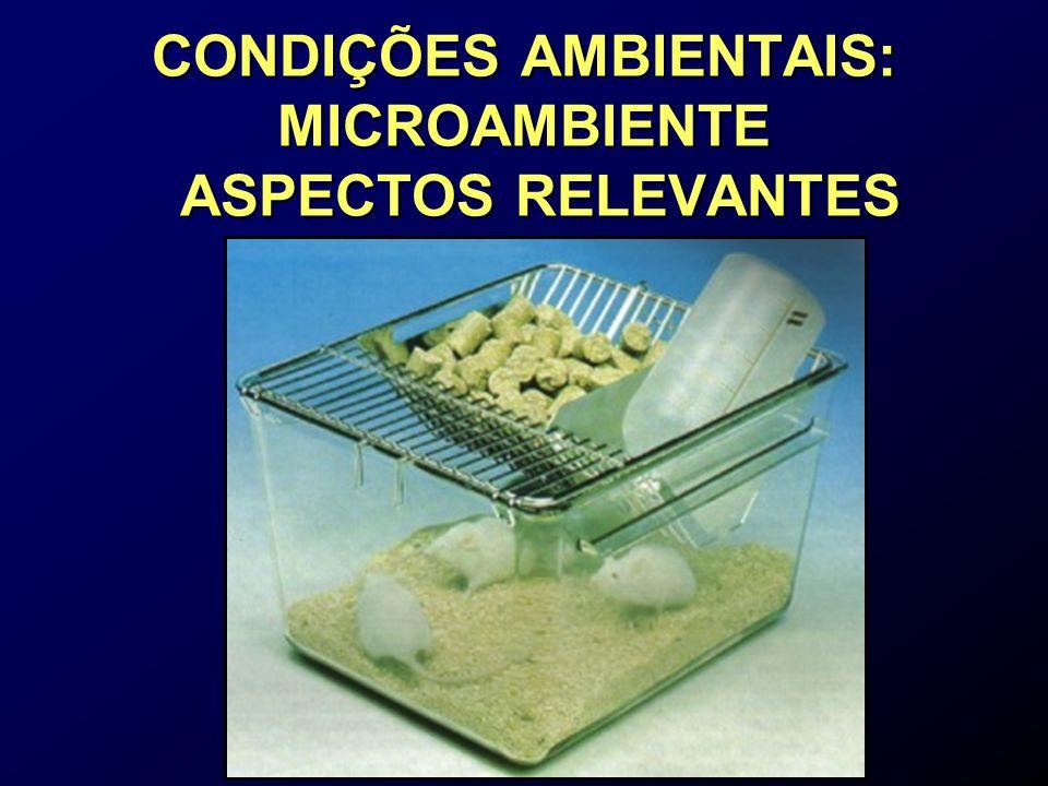 CONDIÇÕES AMBIENTAIS: MICROAMBIENTE ASPECTOS RELEVANTES