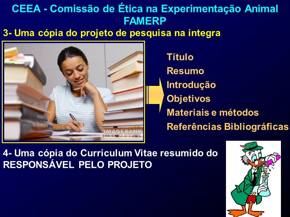 CEEA - Comissão de Ética na Experimentação Animal FAMERP