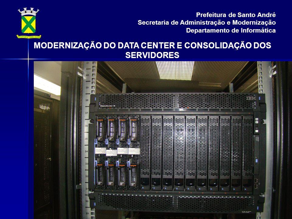 MODERNIZAÇÃO DO DATA CENTER E CONSOLIDAÇÃO DOS SERVIDORES