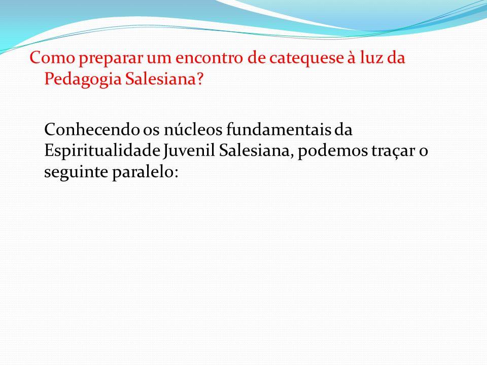 Como preparar um encontro de catequese à luz da Pedagogia Salesiana