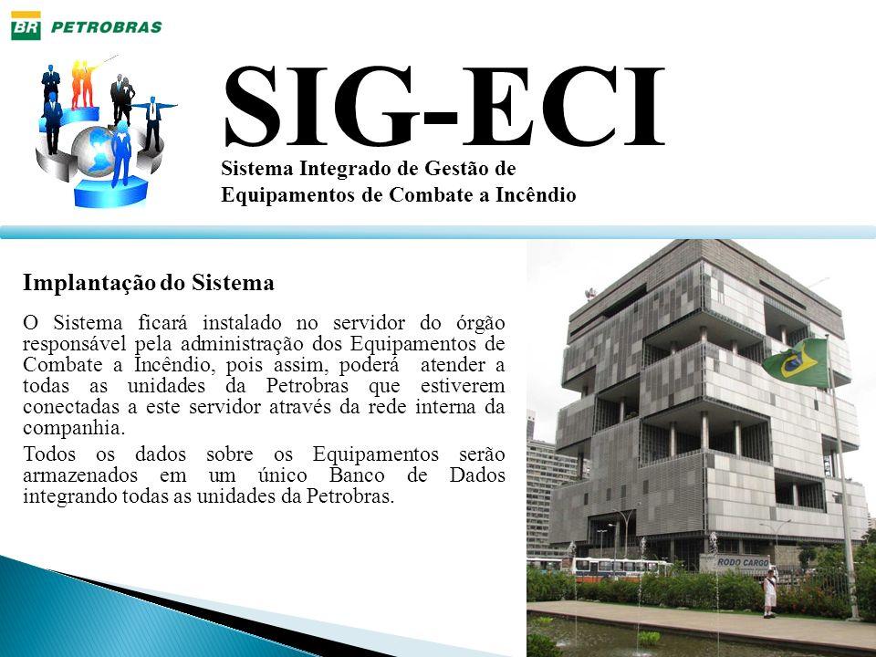 SIG-ECI Implantação do Sistema Sistema Integrado de Gestão de