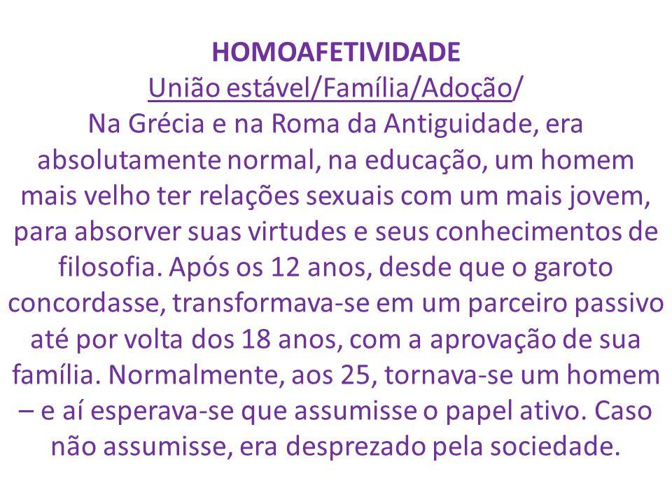 União estável/Família/Adoção/
